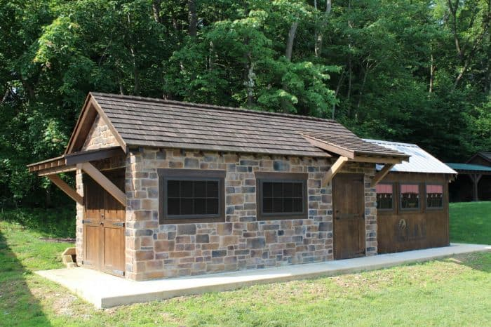 All Amish Garden Shed Custom Designed Lehigh Valley Pa
