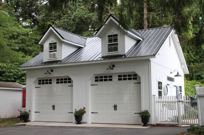 Built On Site Custom Amish Garages In Oneonta Ny: Amish Garages Nj