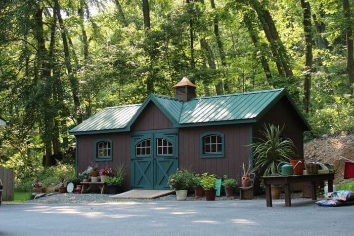 Amish Victorian Sheds Custom Design Lehigh Valley Pa
