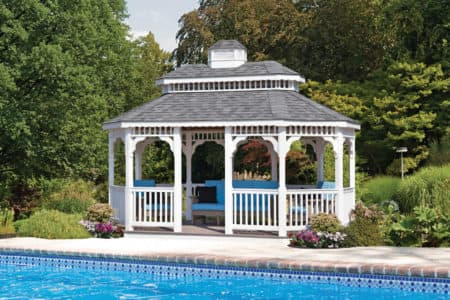 Custom Gazebo from All Amish Structures