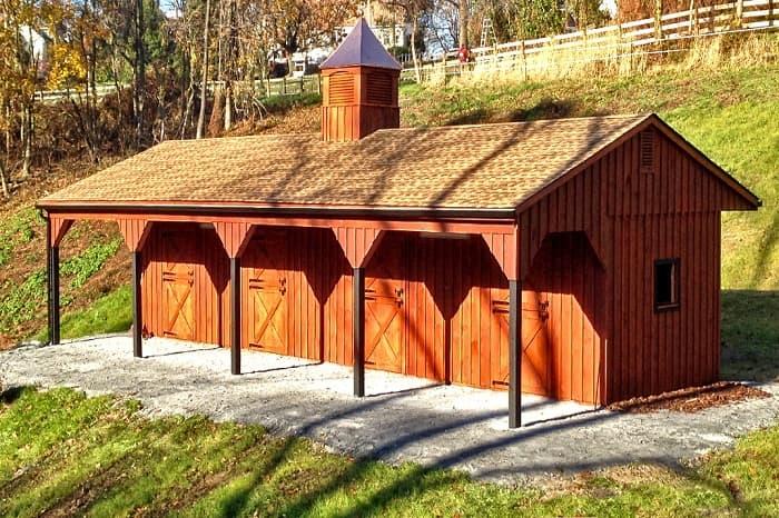 Pa Horse Barn Amish Construction Shed Lehigh Valley