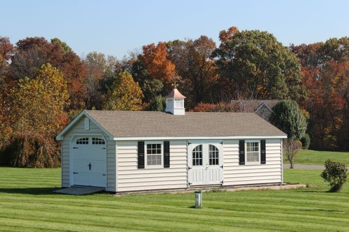 View Samples Of Our New England Style Sheds From All Amish Construction