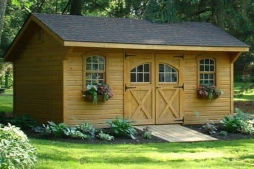 NJ Amish Shed Garage