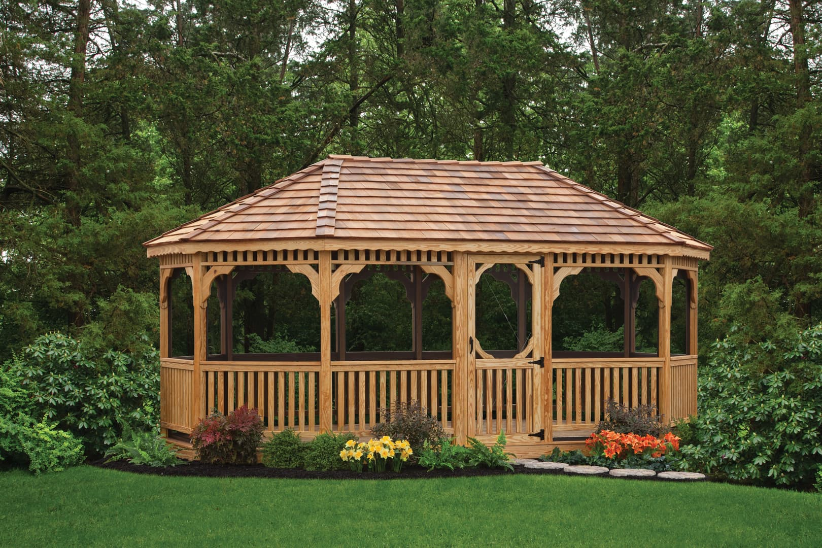 PA Amish Gazebos   Custom Backyard Structures in Lehigh Valley & PA